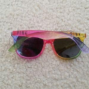 Pink VS sunglasses